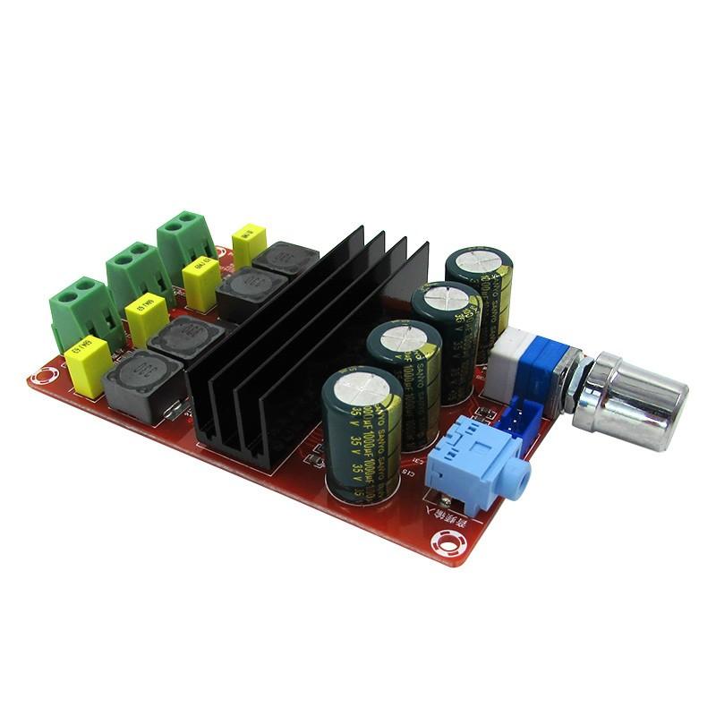 TPA3116 2 x 100W 12V 24V klasa d wzmacniacz mocy stereo audio BTE-260