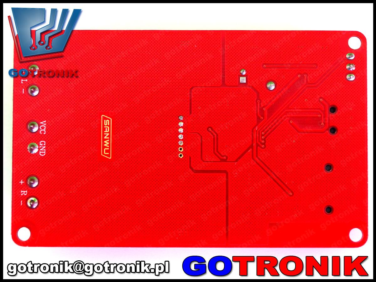 Sanwu,hf183, wzmacniacz stereo, wzmacniacz tpa3116, wzmacniacz audio akustyczny, bte-269, bluetooth, sc card, MP3, WMA, WAV, FLAC, usb,