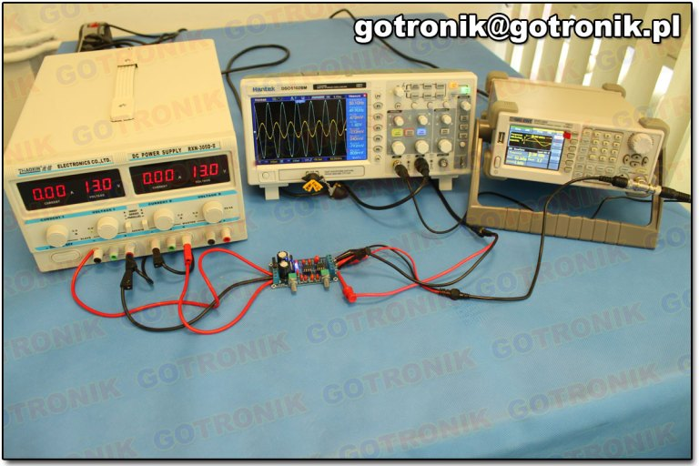 NE5532 aktywny filtr doloprzepustowy do subwoofera głośnika nistonowego bas BTE-285