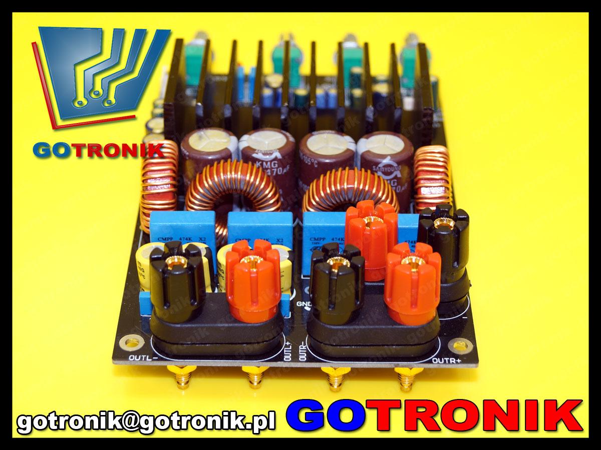 Wzmacniacz mocy audio 2.1 TAS5630 klasa D 300W+150W+150W stereo subwoofer bte-312