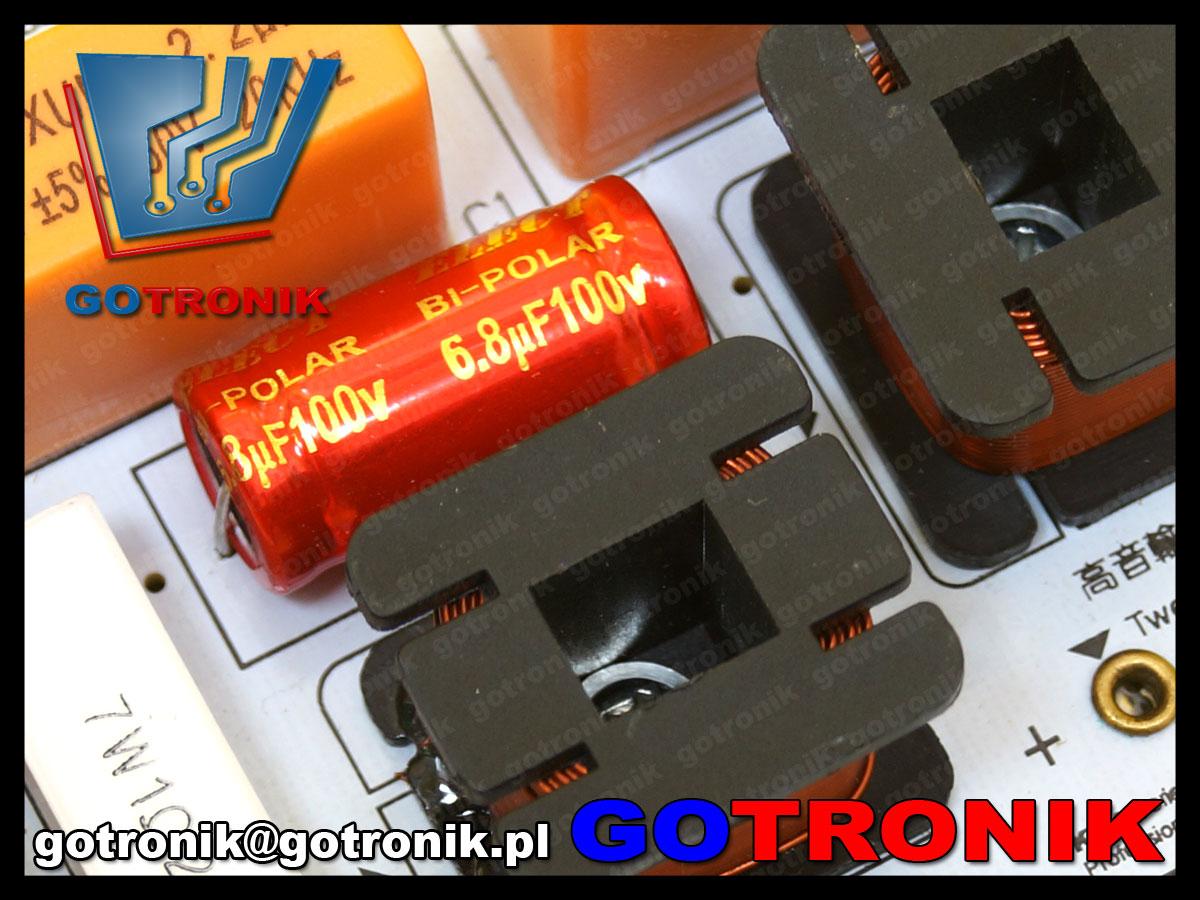 2 drożna dwudrożna zwrotnica głośnikowa Kasun KTV-200C-2 3800hz 3,8kHz 180W 4-8ohm 8om 12db/oct
