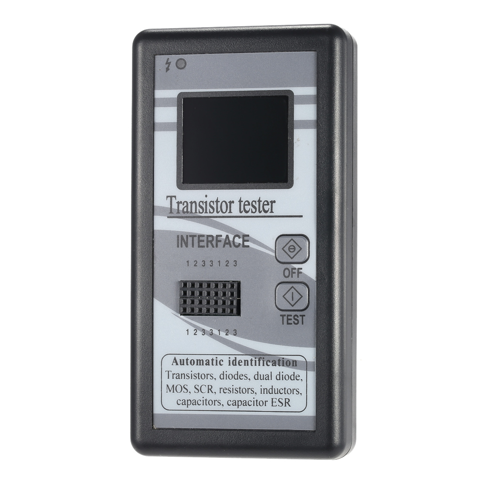 tester tranzystorów i elementów elektronicznych podzespołów