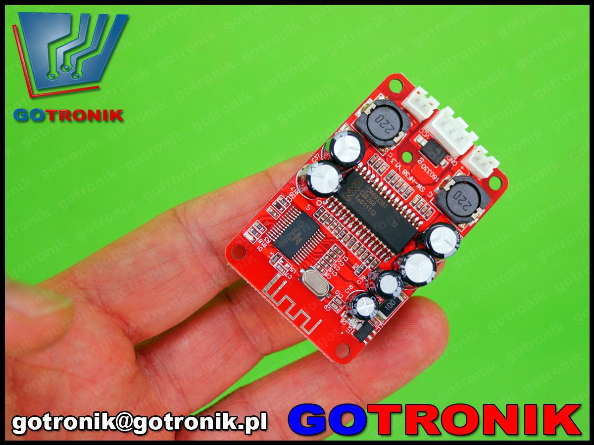 BTE-342, wzmacniacz z bluetooth, wzmacniacz stereo, wzmacniacza audio, sanwu, hf38, wzmacniacz audio bezprzewodowy, BTE342, tda8932bt nxp,