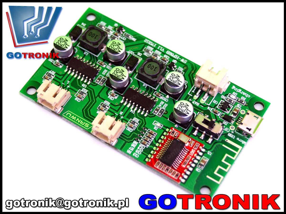 BTE-345, wzmaczniacz z bluetooth, wzmacniacz stereo, wzmacniacza audio, sanwu, hf69B, wzmacniacz audio do usb, BTE345