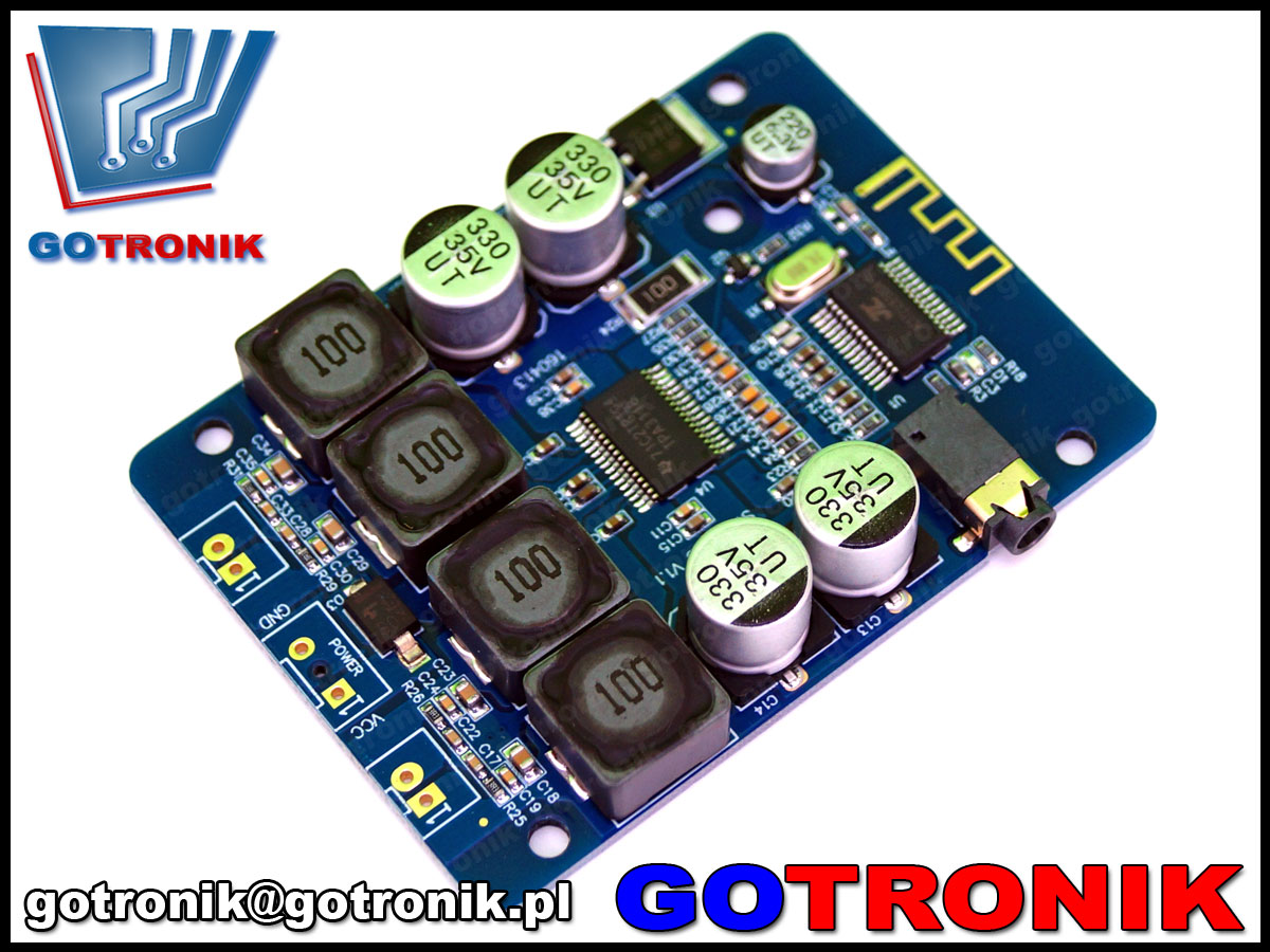 BTE-346, wzmacniacz z bluetooth, wzmacniacz stereo, wzmacniacza audio, sanwu, hf48, SW-HF48, TPA3118, wzmacniacz audio bezprzewodowy, BTE346, wzmacniacz 2x30W