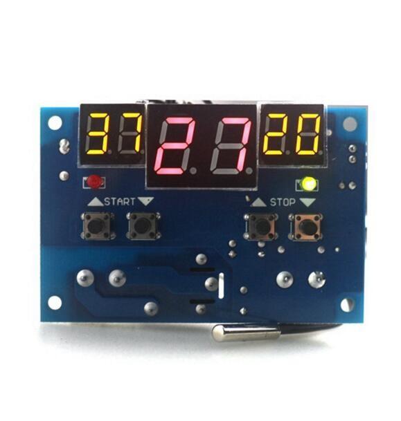 sterownik  termostat cyfrowy regulator temperatury W1401 BTE-353