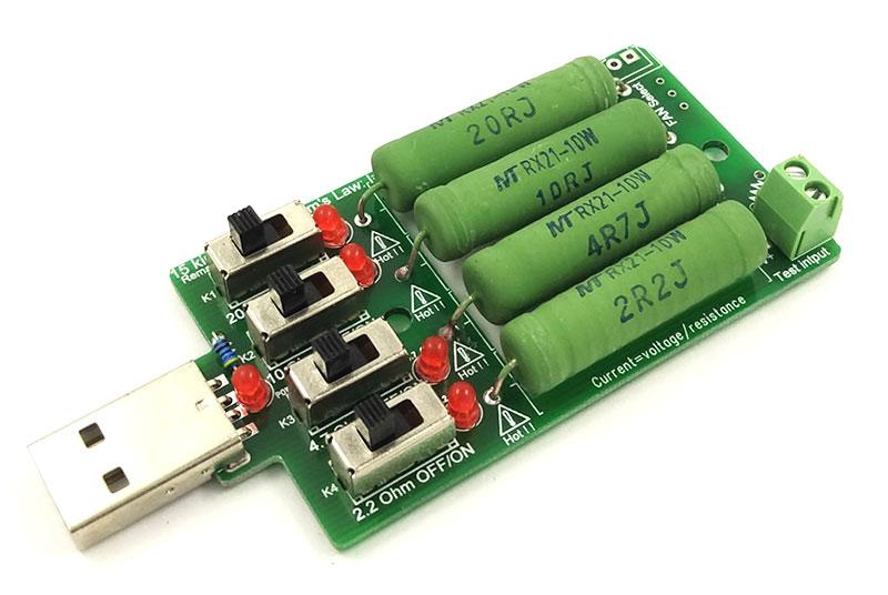 BTE-359 obciążenie rezystorowe USB 40W
