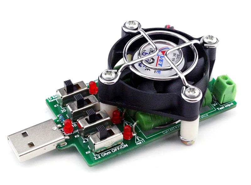 BTE-360 obciążenie rezystorowe USB 40W