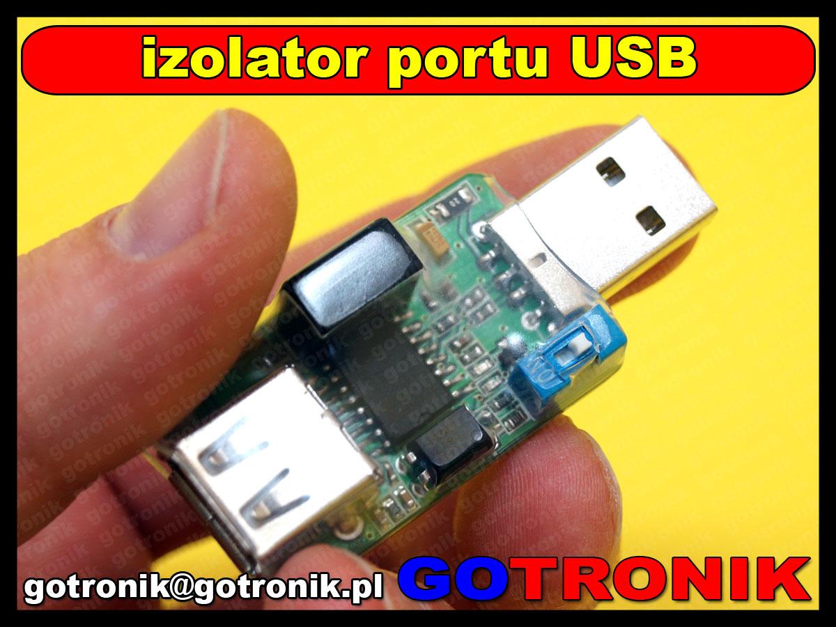 BTE-371 izolator portu USB 2.0 ADUM3160 BTE371
