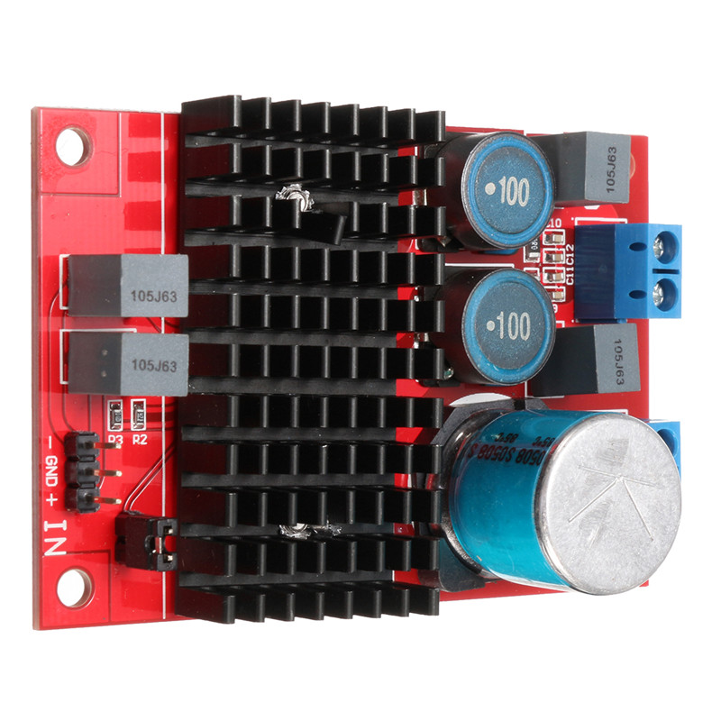 wzmacniacz mocy audio 100W TPA3116D BTL mostek 12V 24V mono block BTE-379