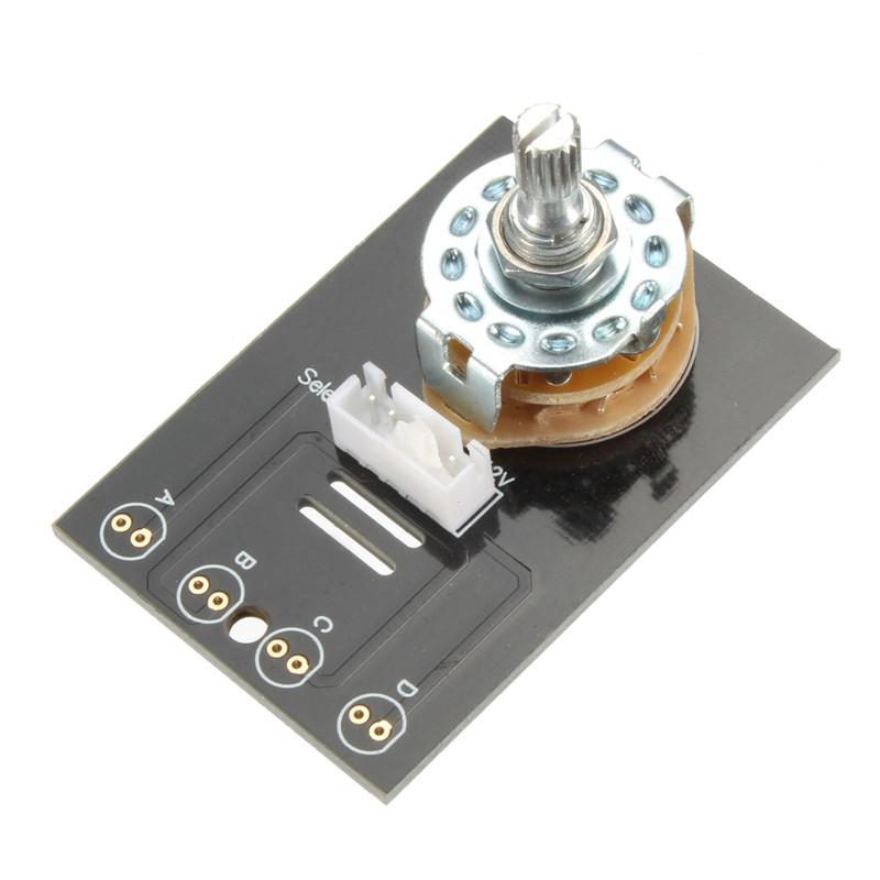 przełącznik audio selektor stereo do wzmacniacza BTE-381