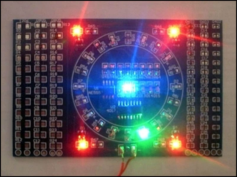 BTE-389 zestaw do samodzielnego montażu SMD PCB