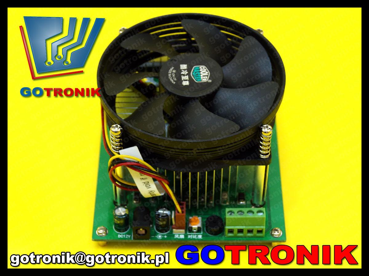 BTE-391 elektroniczne obciążenie 150W 10A mosfet regulowane aktywne BTE391