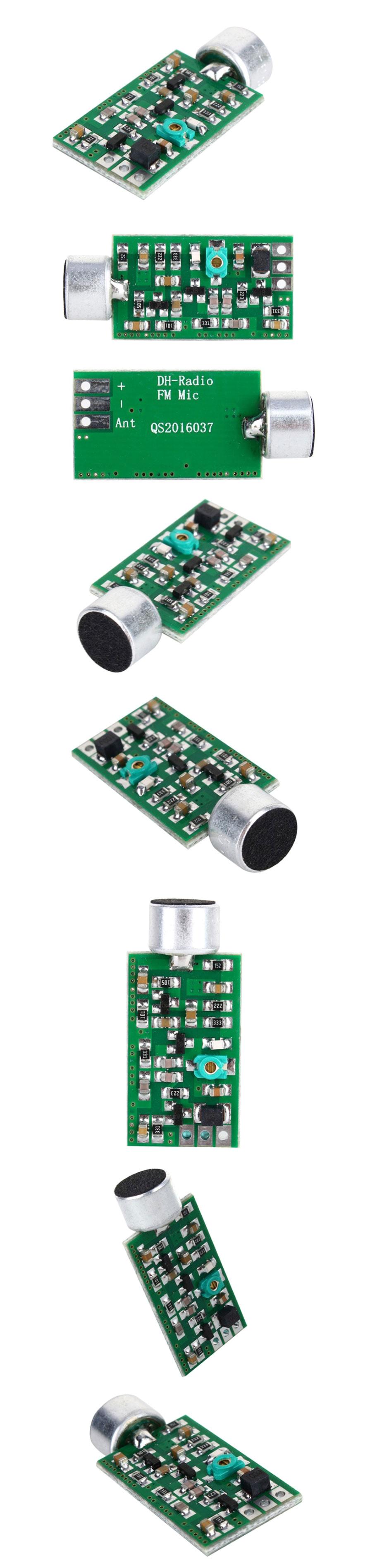 BTE-412 mini nadajnik FM UKF mikrofon bezprzewodowy szpiegowski