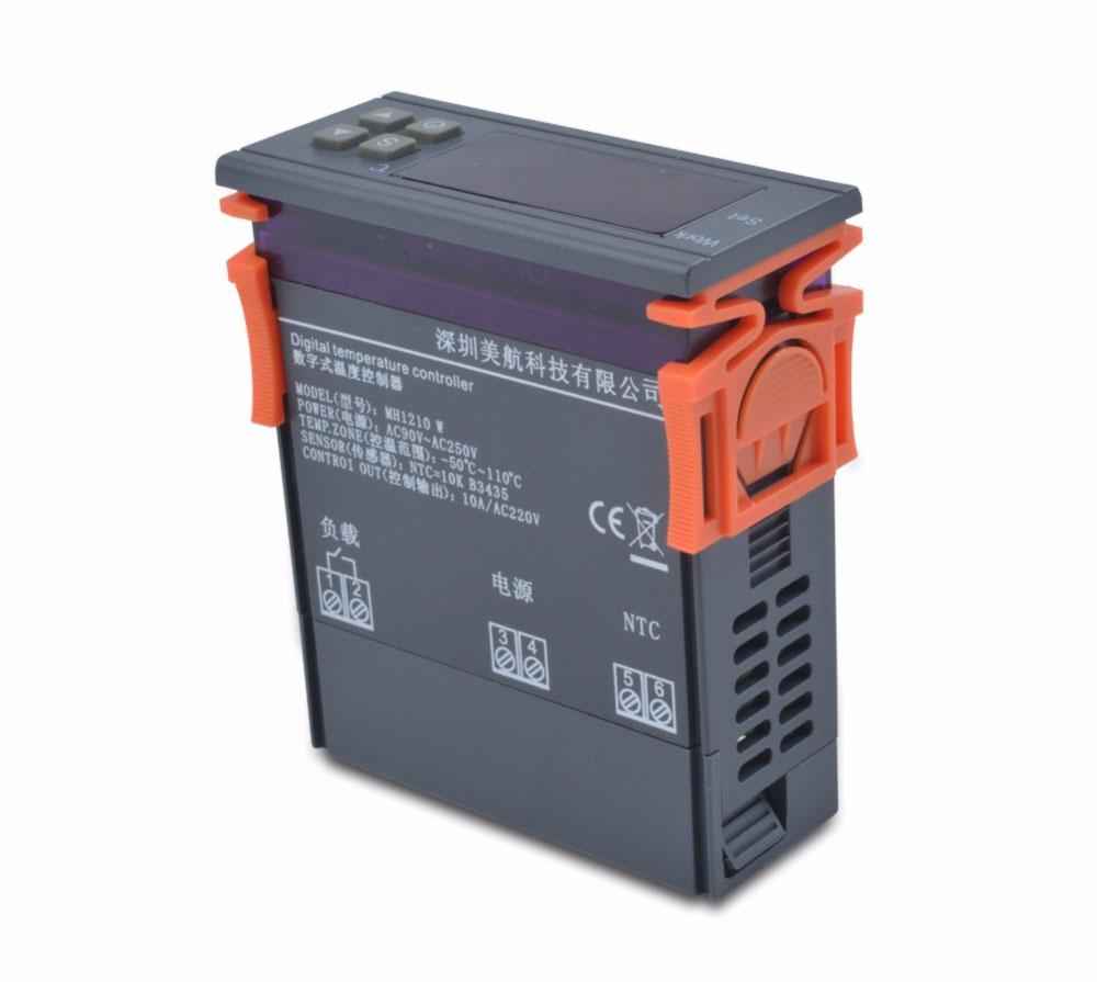 MWH1210W sterownik regulator temperatury NTC 90 – 250 V AC 50Hz BTE-419