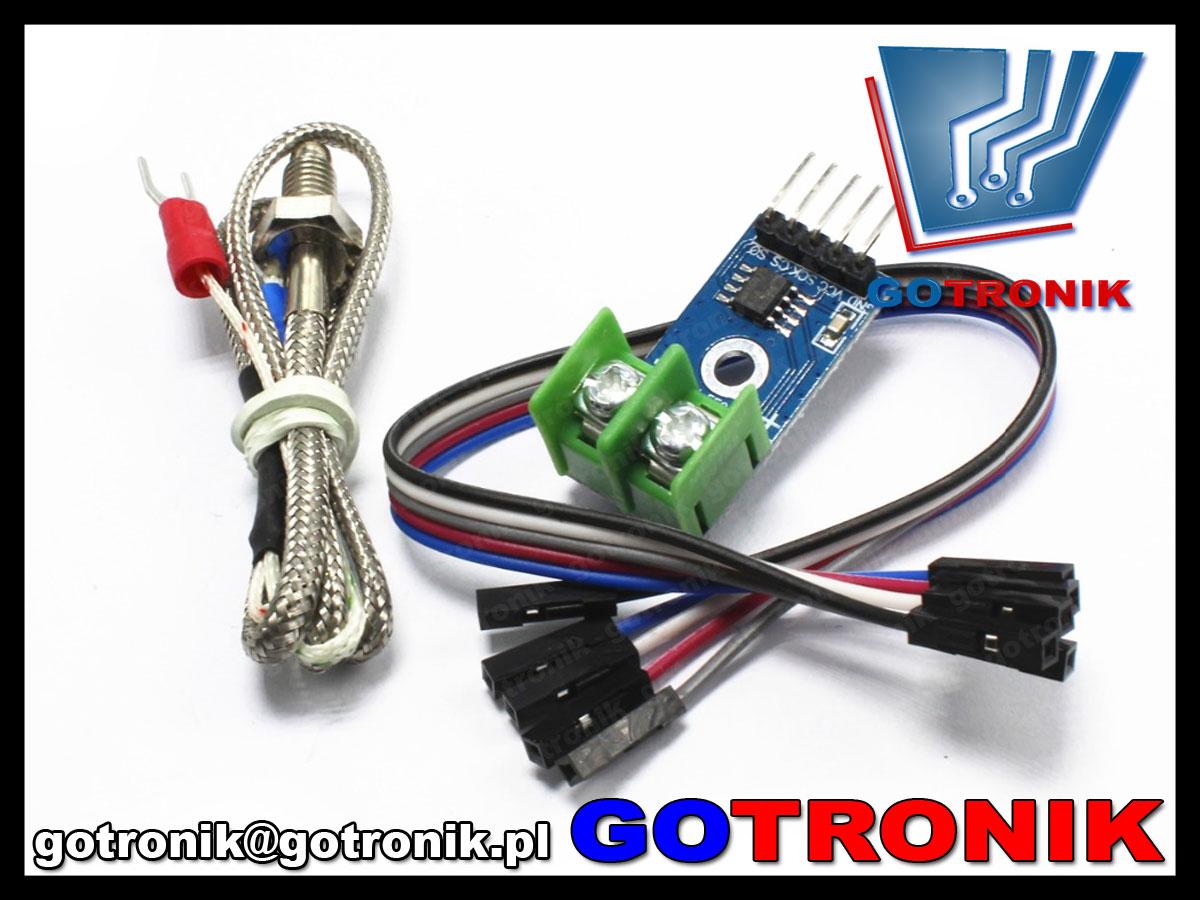 BTE-420 max6675 cyfrowy termometr SPI termopara typ K