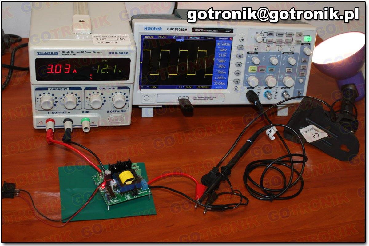 BTE-429 przetwornica napięcia DC na AC 12V to 110V 200V 220V 280V AC