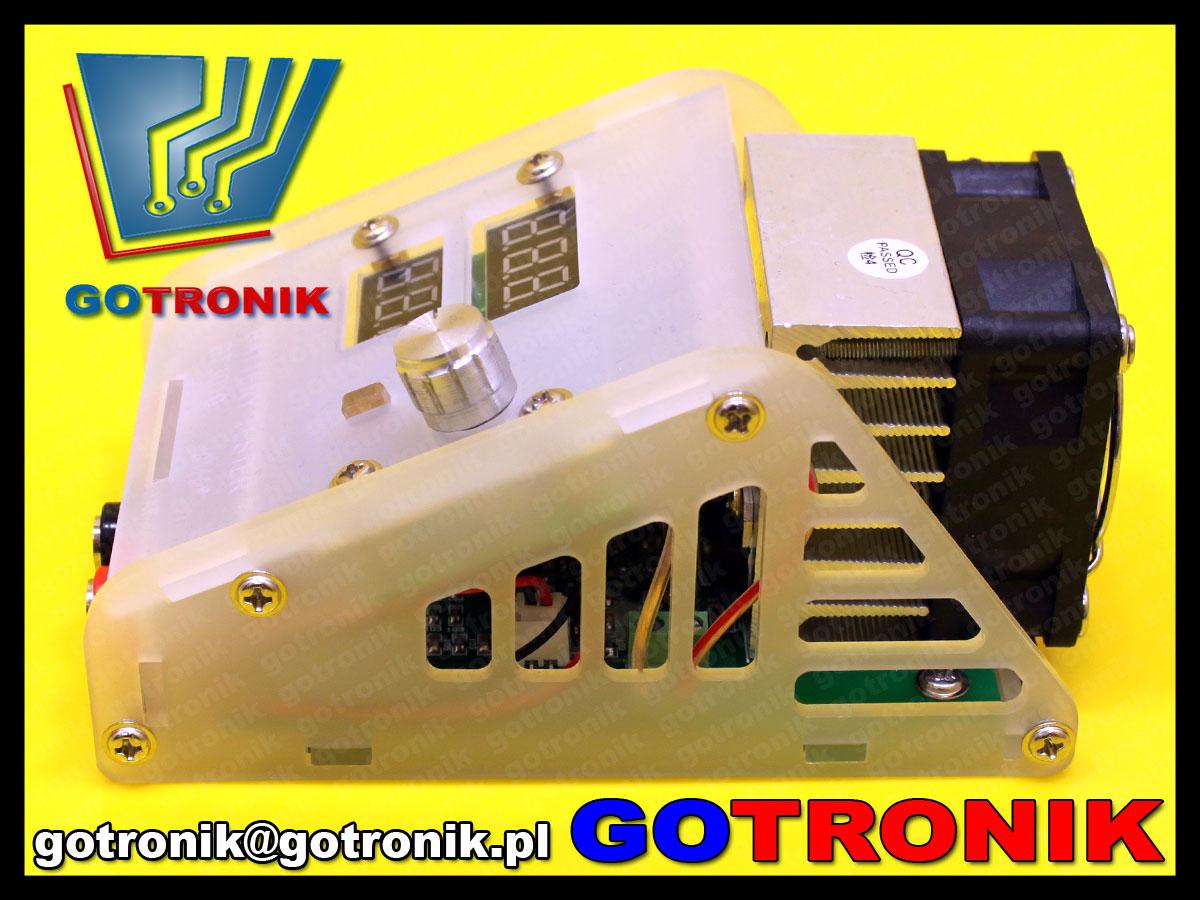 BTE-433 akrylowa obudowa do elektroniczne obciążenie BTE-168