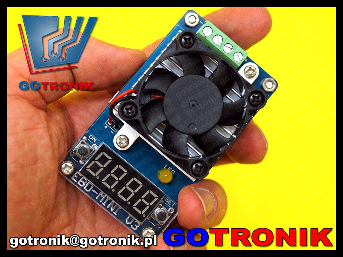 BTE-436 EBD Mini V3 EBD-M03 tester akumulatorów ogniw elektroniczne obciążenie BTE436