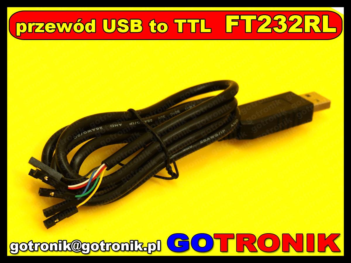 BTE-452 usb to ttl uart rs232 port szeregowy ft232rl