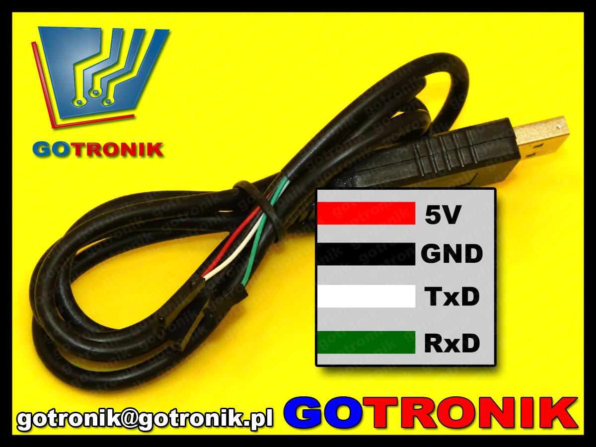 BTE-453 konwerter kabel przewód ust to rs232 ttl uart pl2303hx