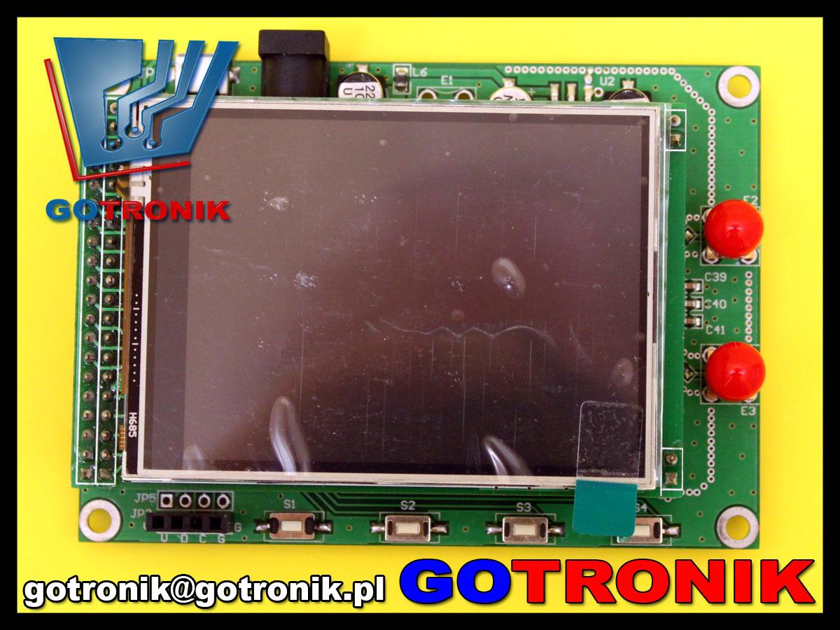 BTE-457 ADF4351 DDS generator RF mikrofalowy 35MHz-4.4GHz TFT LCD STM32F103