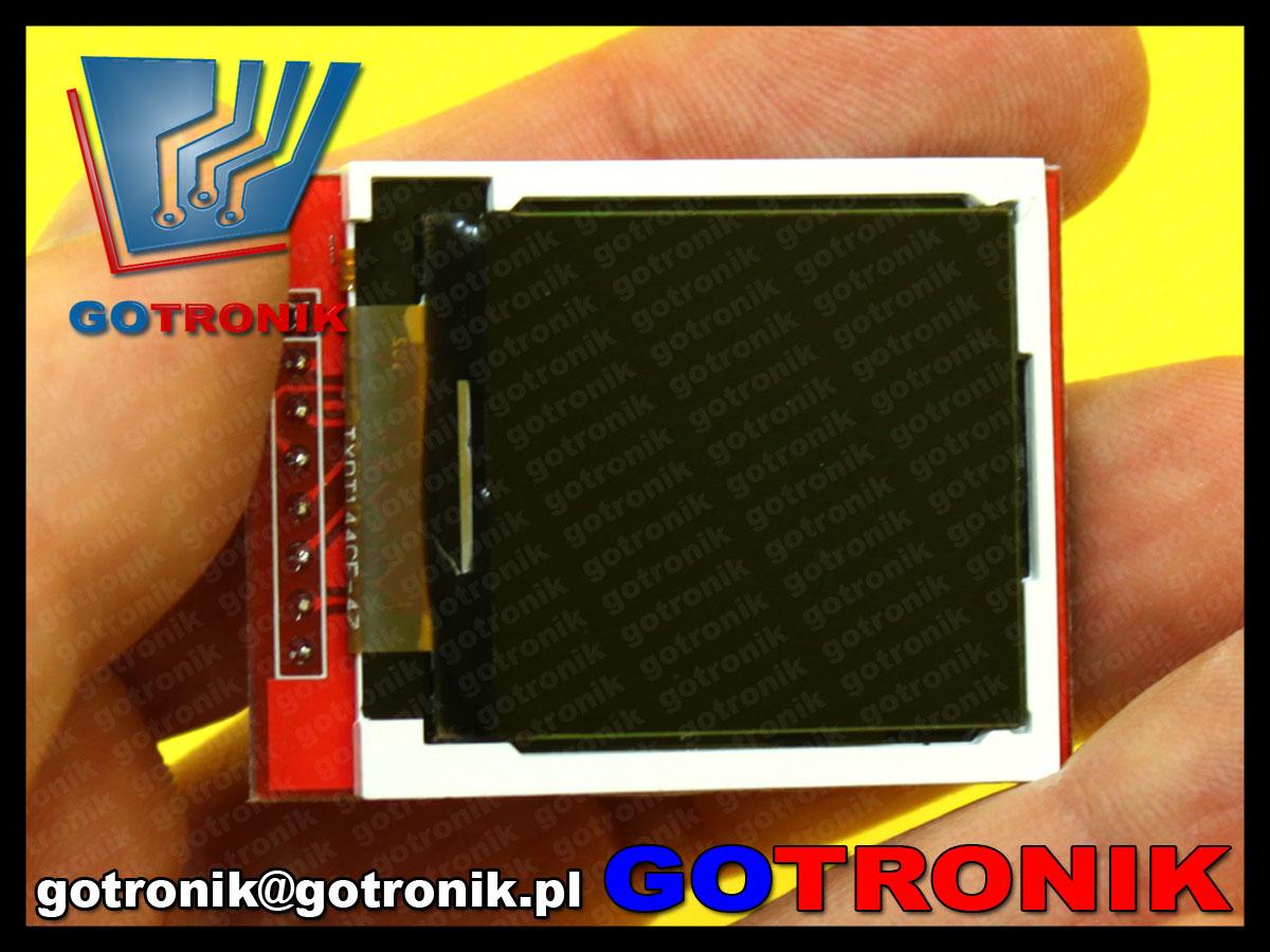BTE-461 wyświetlacz LCD TFT aktywny 1,44cala 128x128 ST7735S
