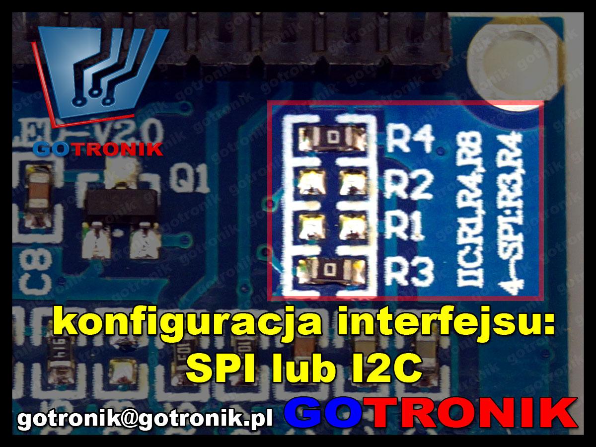 BTE-464 wyświetlacz OLED 0,96OLED-V2,0