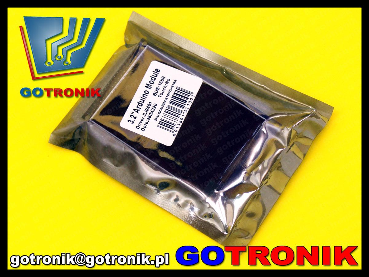 bte-467 ILI9341 3,2 cala wyświetlacz TFT LCD 320X480 dla arduino MEGA 2560 R3
