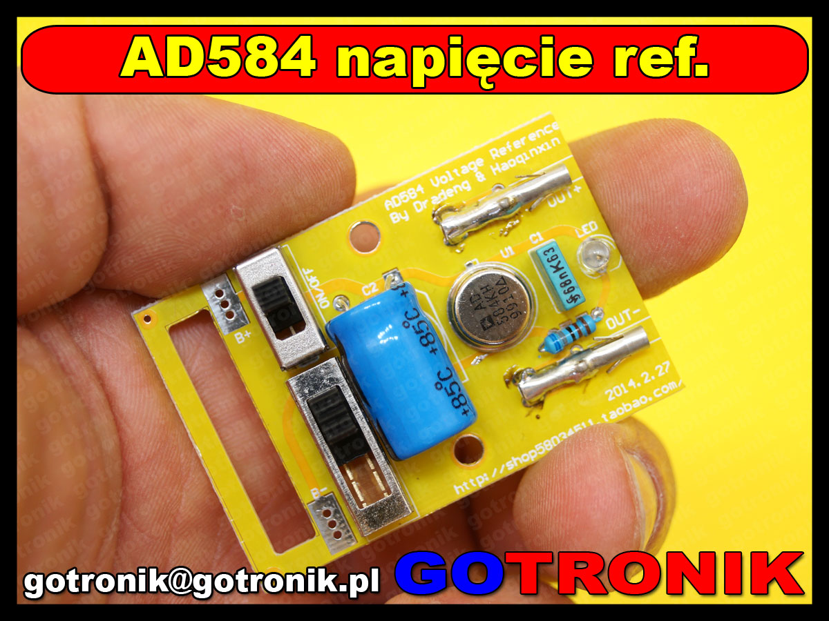 BTE-473 AD584KH Napięcia Odniesienia 2.5 V/7.5 V/5 V/10 V