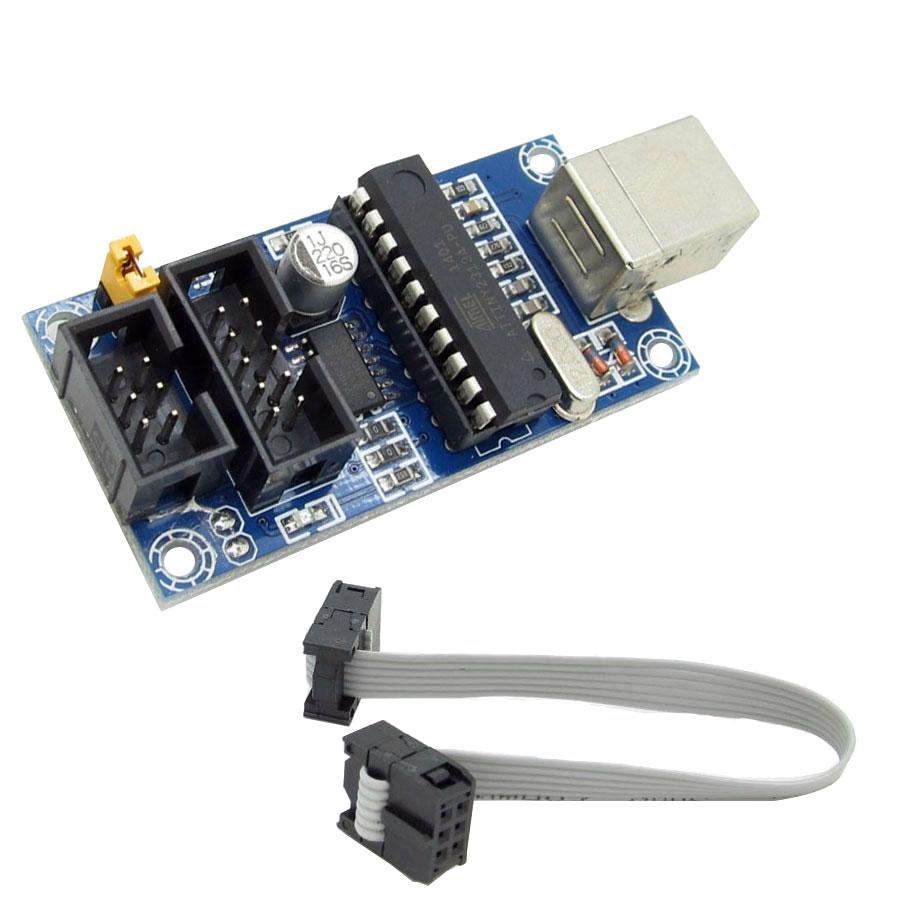 BTE-490 USBTiny USBtinyISP AVR ISP programmer programtor
