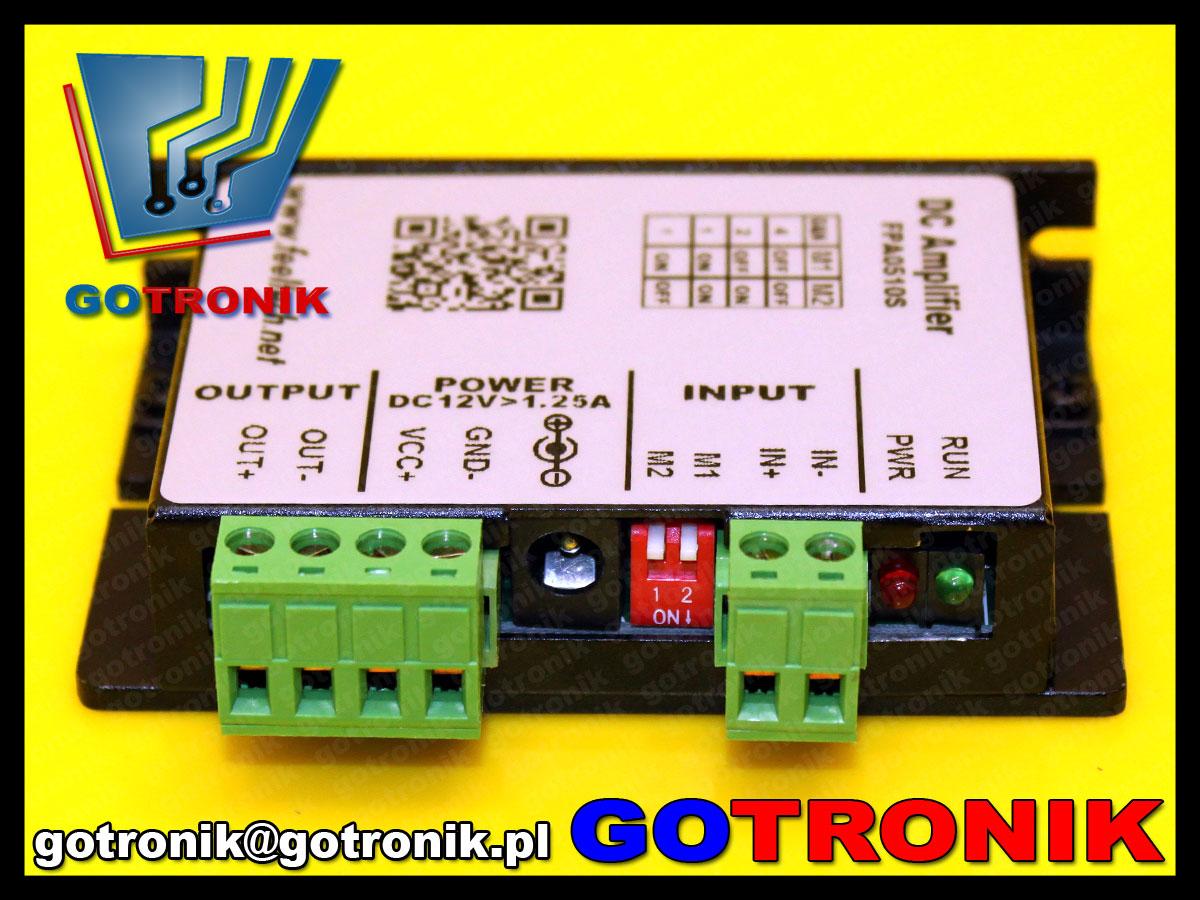 BTE-492 wzmacniacz do generatorów DDS mocy Felltech FPA0510S