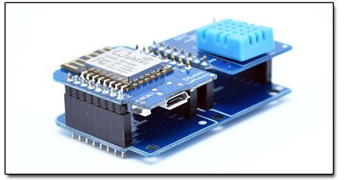 BTE-505 płytka pcb Dual Base for WeMos D1 mini