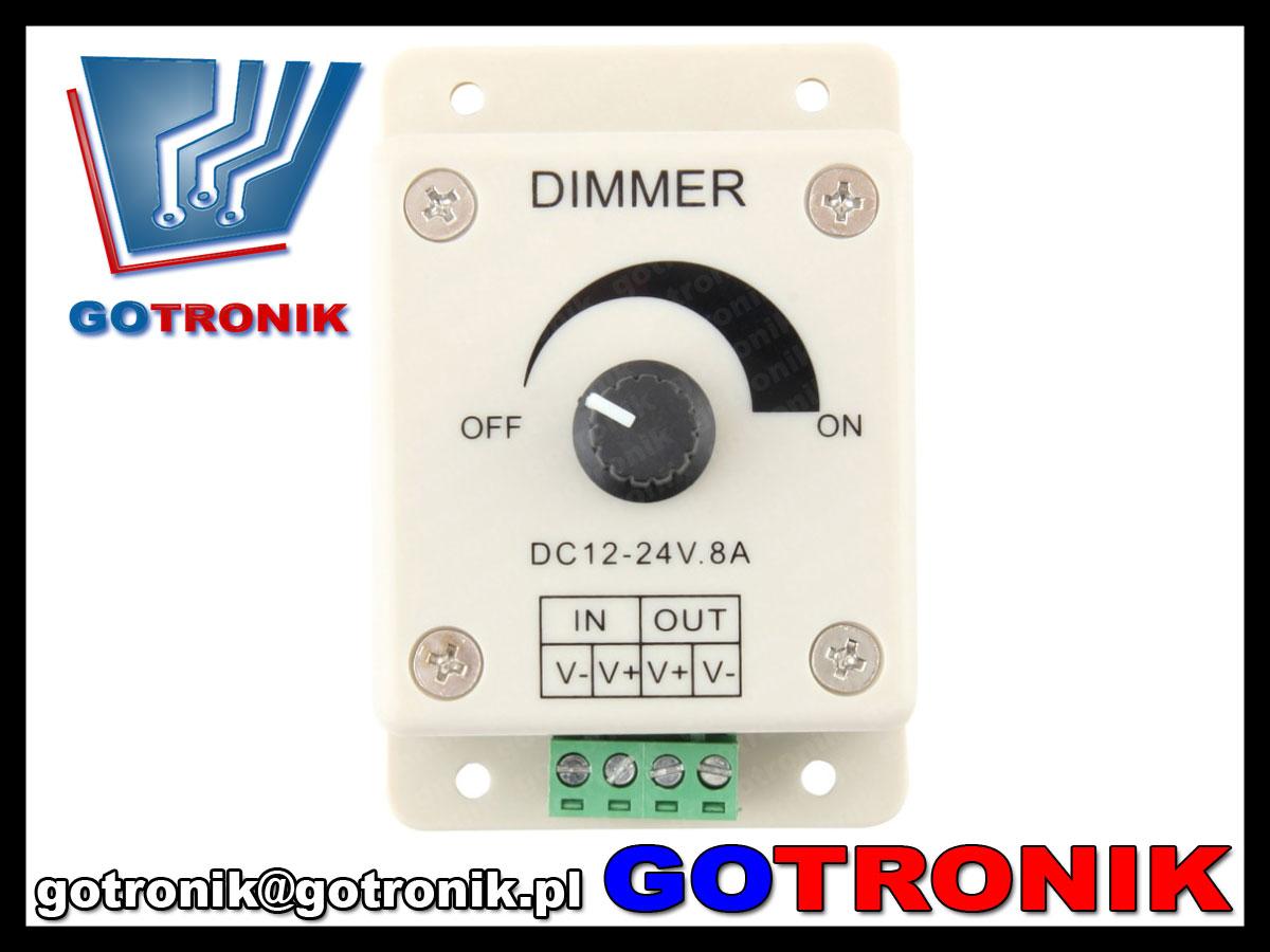 BTE-506 steronik regulator mocy DC generator PWM BTE506 dimmer