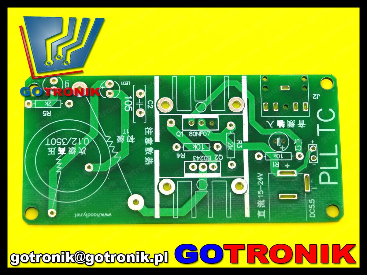 BTE-510 cewka tesli tesla łuk elektryczny plazma głośnik