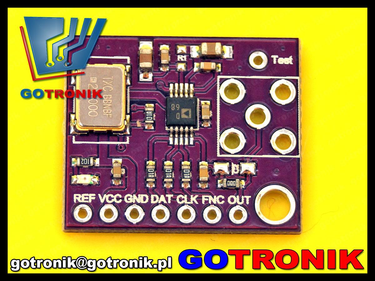 BTE-512 CJMCU-9833 AD9833 AD9833BRMZ generator dds