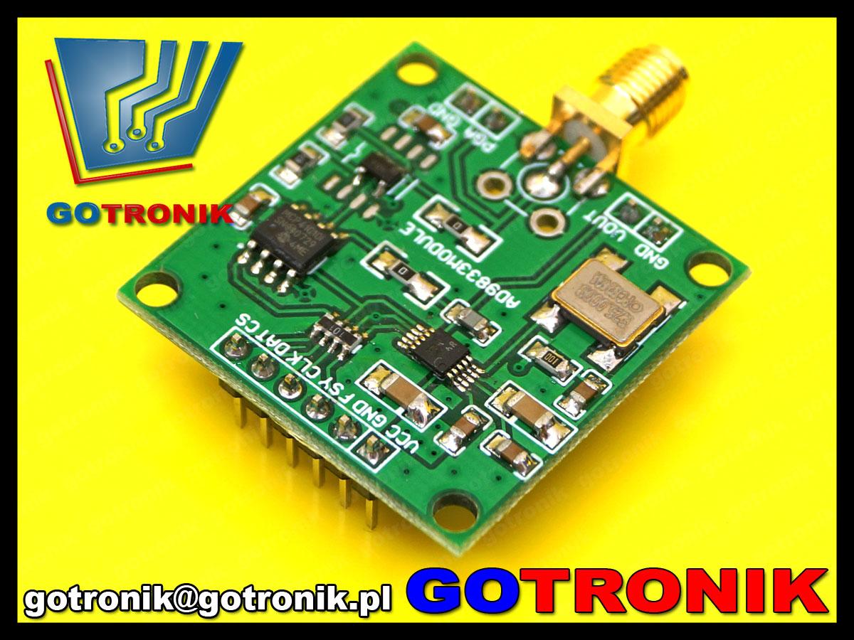 BTE-513 Moduł generatora sygnałowego AD9833 DDS