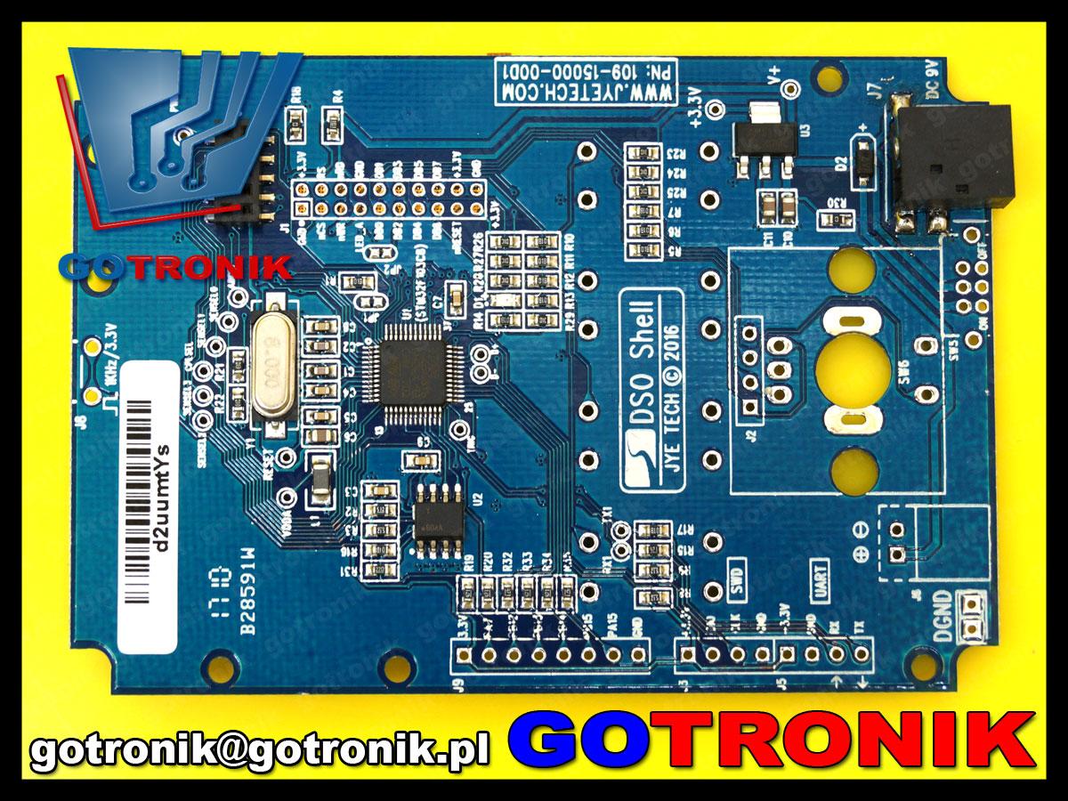 BTE-514 DSO150 15001K oscyloskop cyfrowy mini przenośny 200kHz