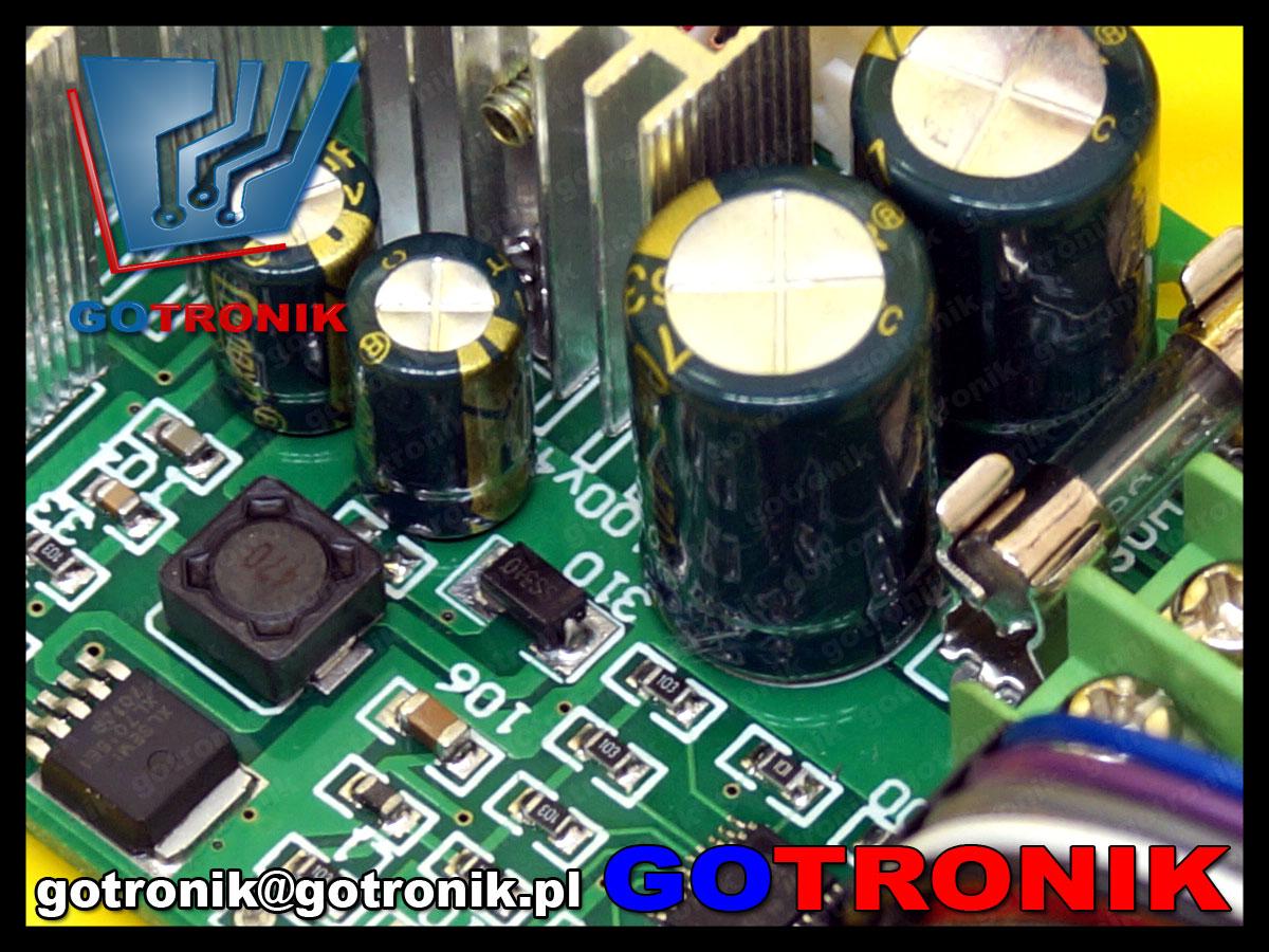 sterownik pwm regulator współczynnika wypełnienia dc moduł BTE-521