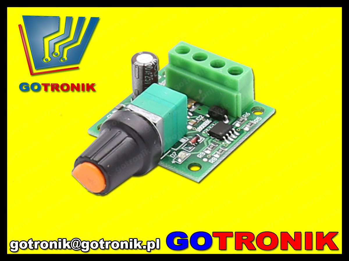 mini steronik pwm niskonapięciowy 1,8V 15V 2A 30W regulator mocy DC BTE-539