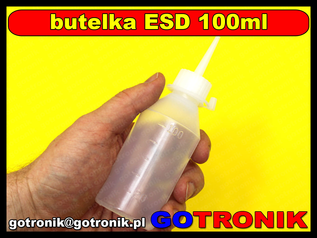Butelka ESD 100ml z kapturkiem BUT-004