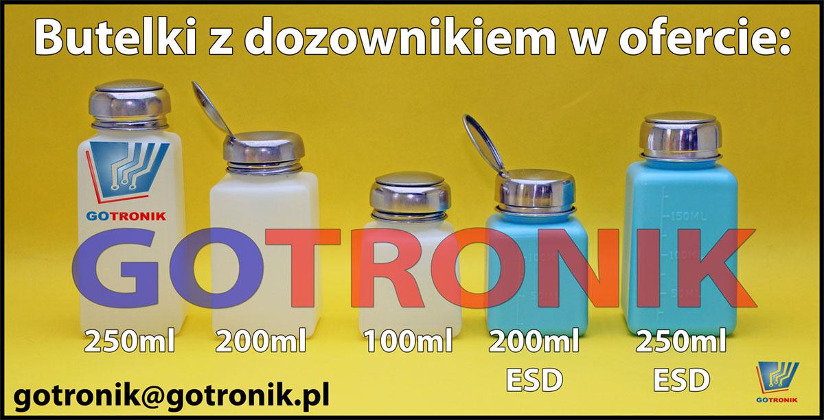 Butelki z dozownikiem w ofercie GOTRONIK