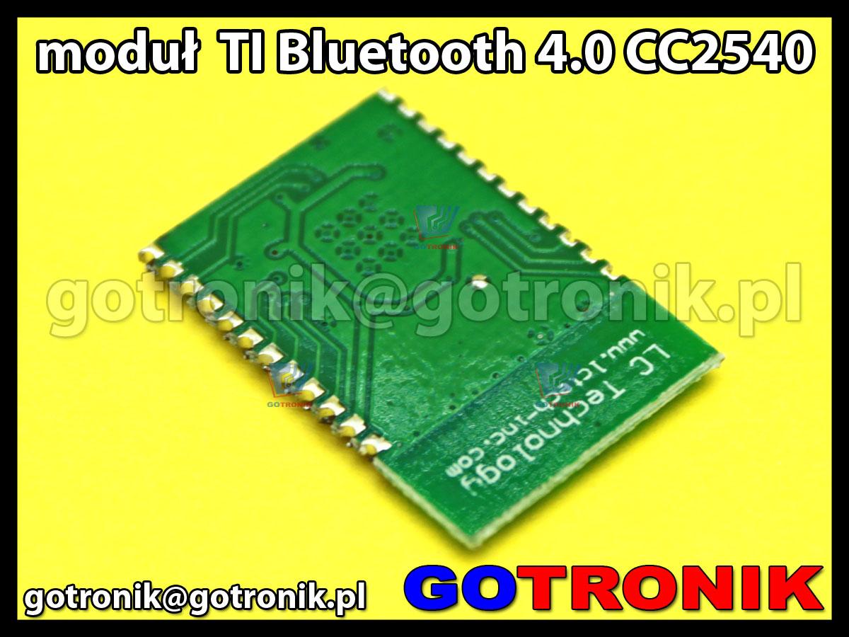 Moduł CC2540 TI Bluetooth 4.0 chip