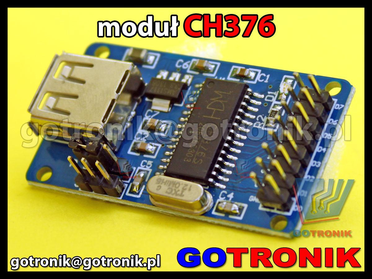 Moduł USB z układem CH376S