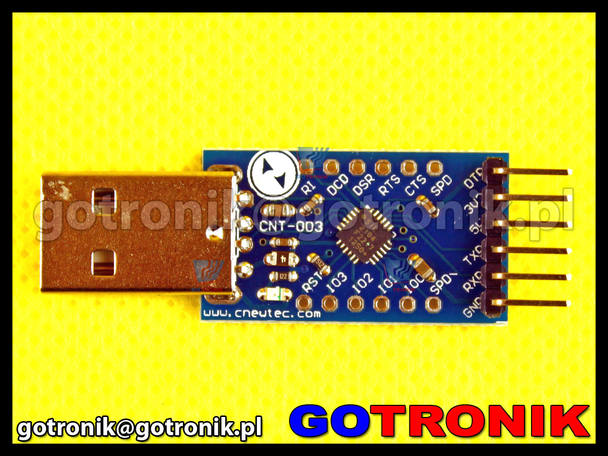 konwerter SINGLE-CHIP USB-TO-UART BRIDGE Cp2104