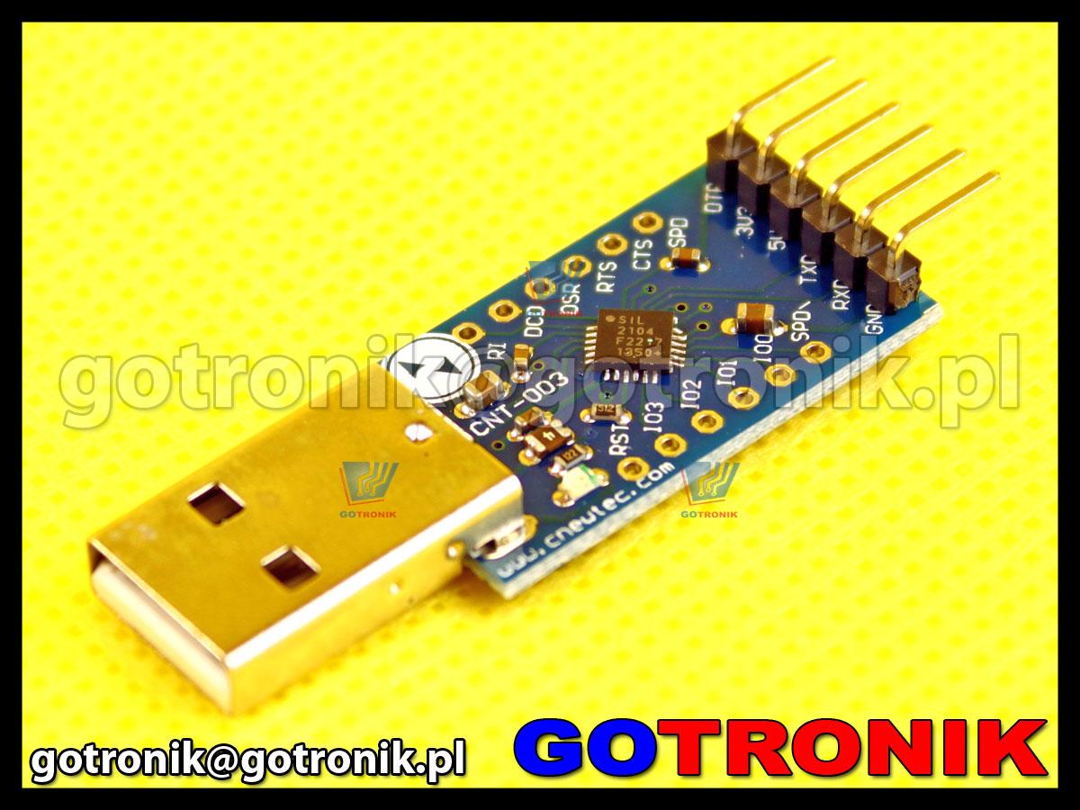 konwerter SINGLE-CHIP USB-TO-UART BRIDGE Cp2104