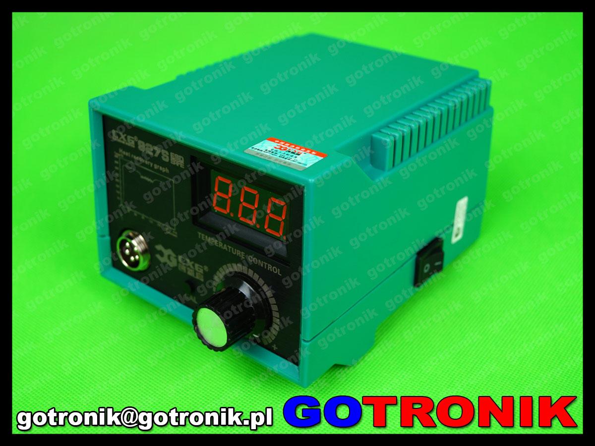 stacja lutownicza 927S CXG 60W do lutowania z ceramiczną grzałką 450°C regulacją temperatury ESD wymienne groty cyfrowa
