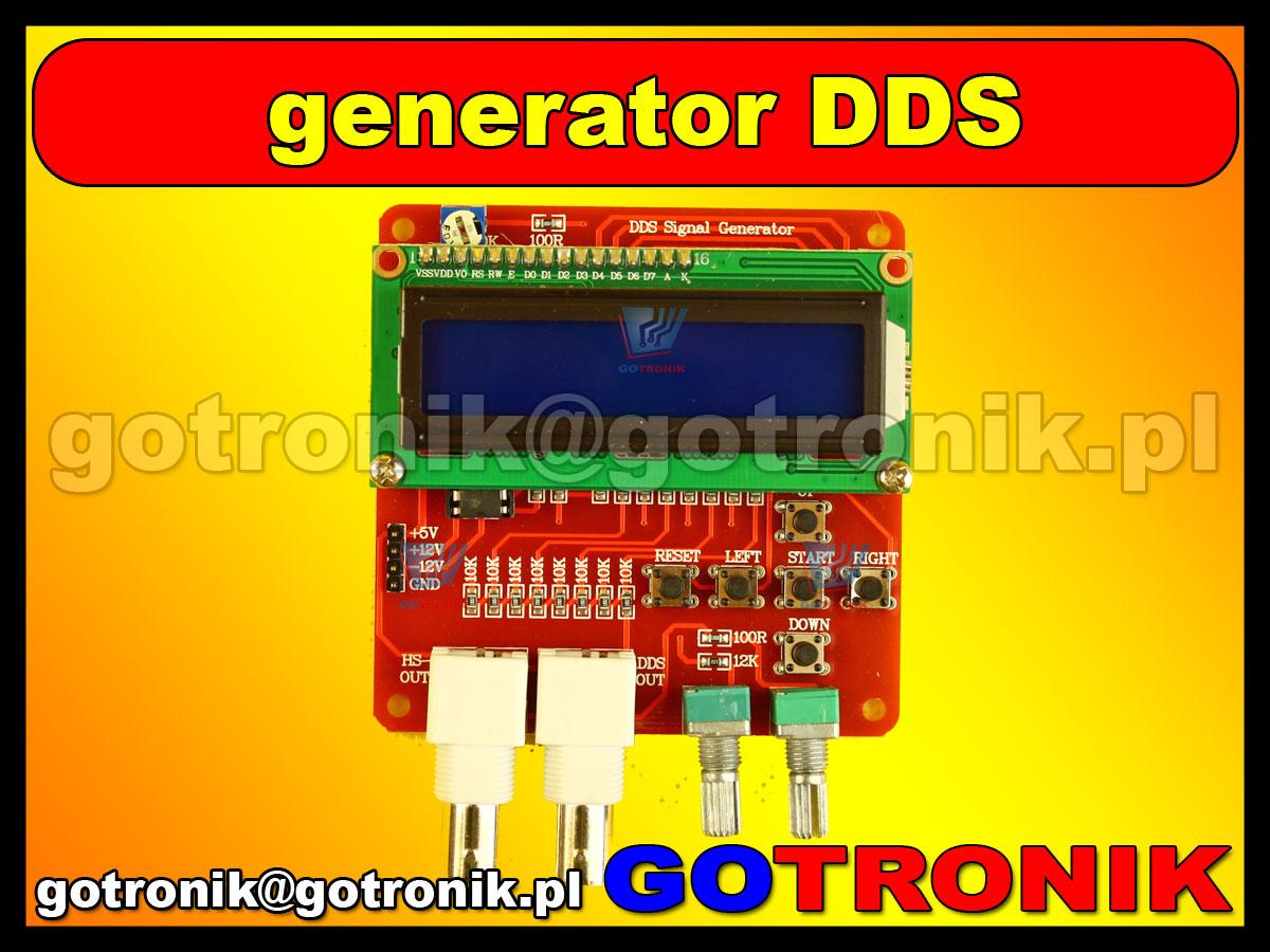 Generator AVR DDS V2.0 signal generator funkcyjny