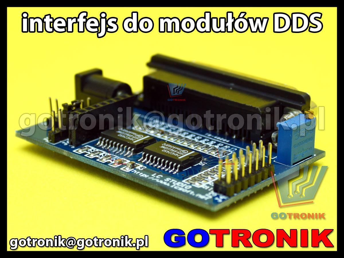 Interfejs kontrolny do generatorów DDS AD9850 AD9851
