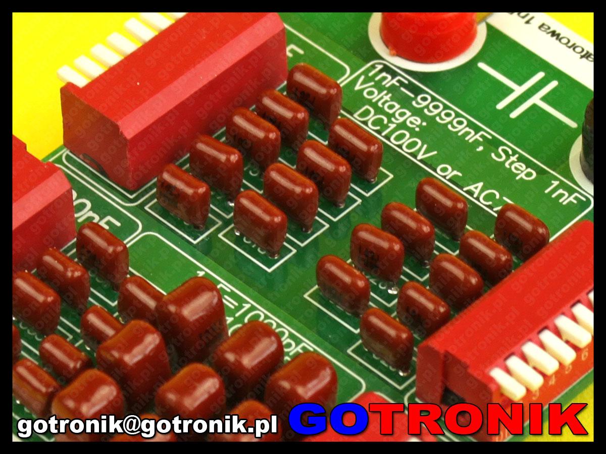 Dekada kondensatorowa 1nF - 10uF